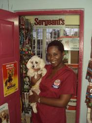 Noah's Ark Veterinary Centre client